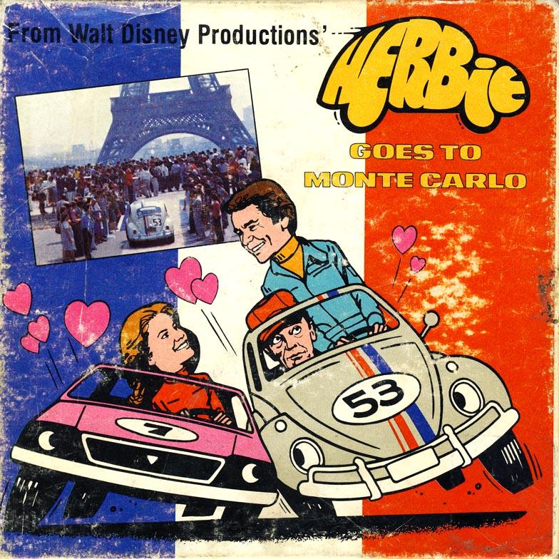 Herbie Goes to Monte Carlo - movie soundtrack record album