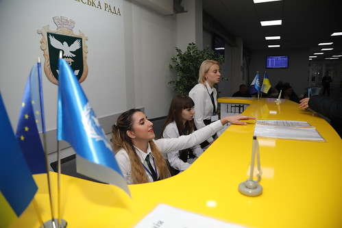 Brand new Administrative Service Centre opened in Sloviansk thanks to EU support
