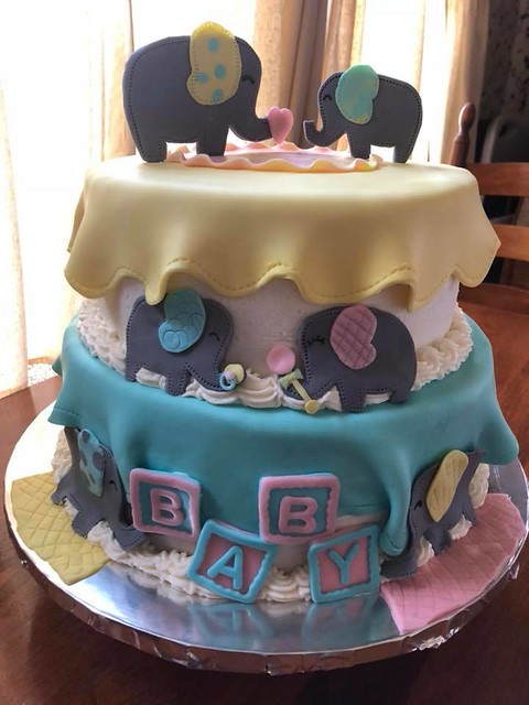 Baby Shower Cake by My Cakes