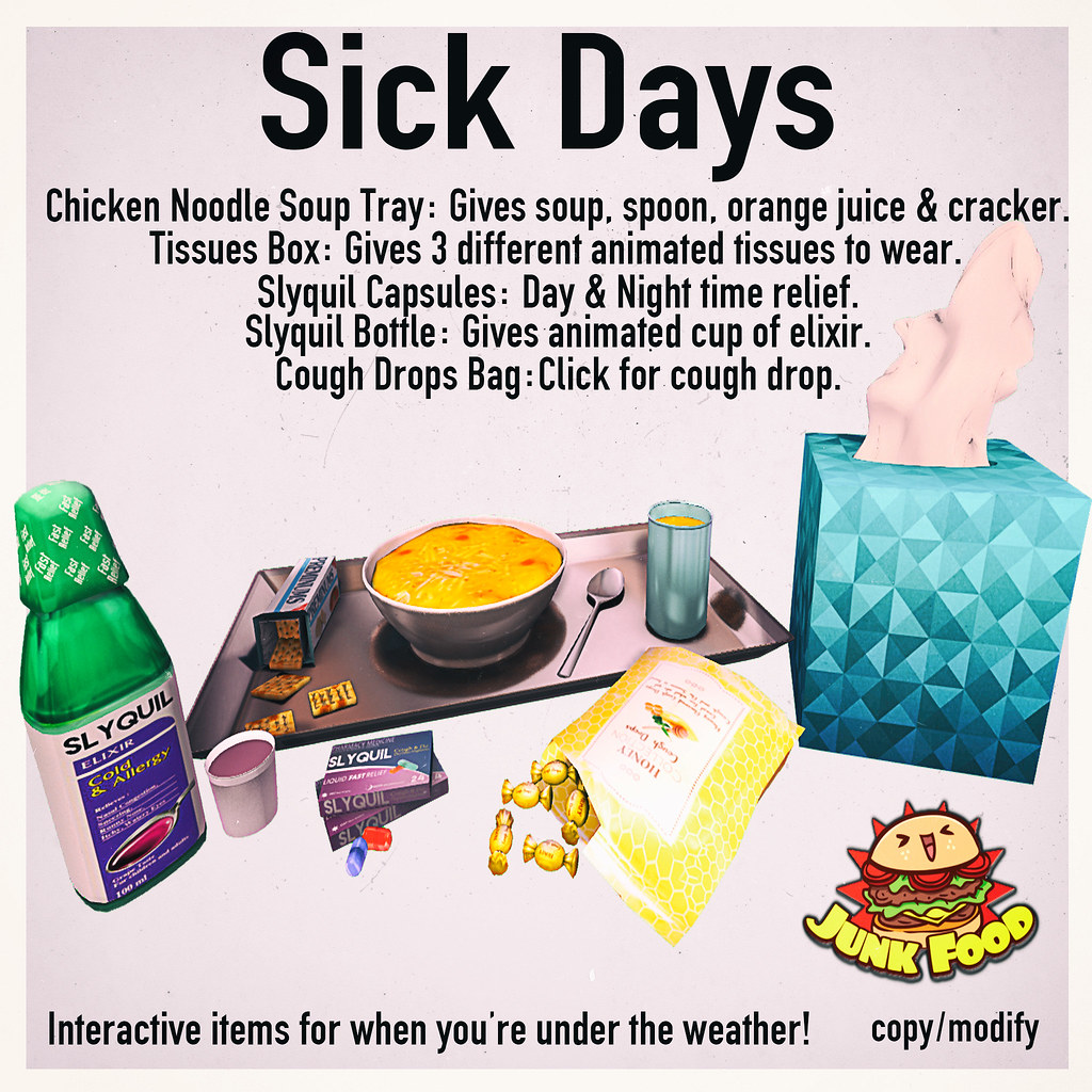 Junk Food - Sick Days Ad - TeleportHub.com Live!