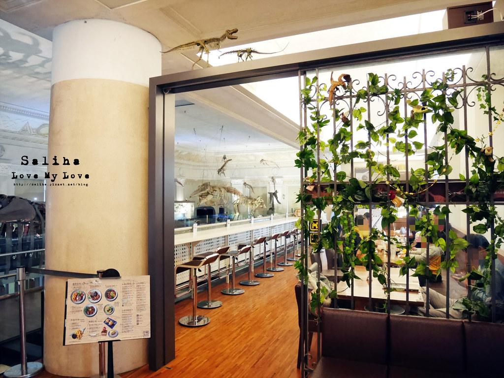 台北車站親子餐廳台灣博物館石尚恐龍主題餐廳恐龍咖啡館 (7)