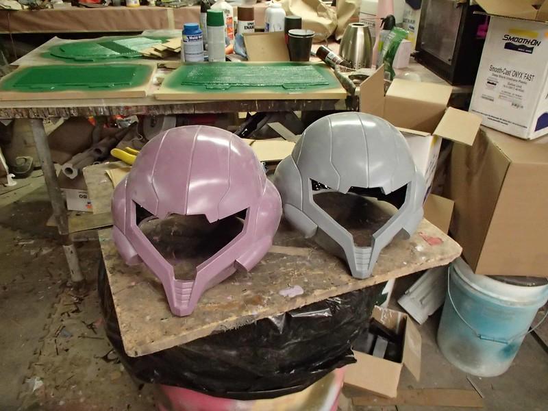 Samus Helmet first casts