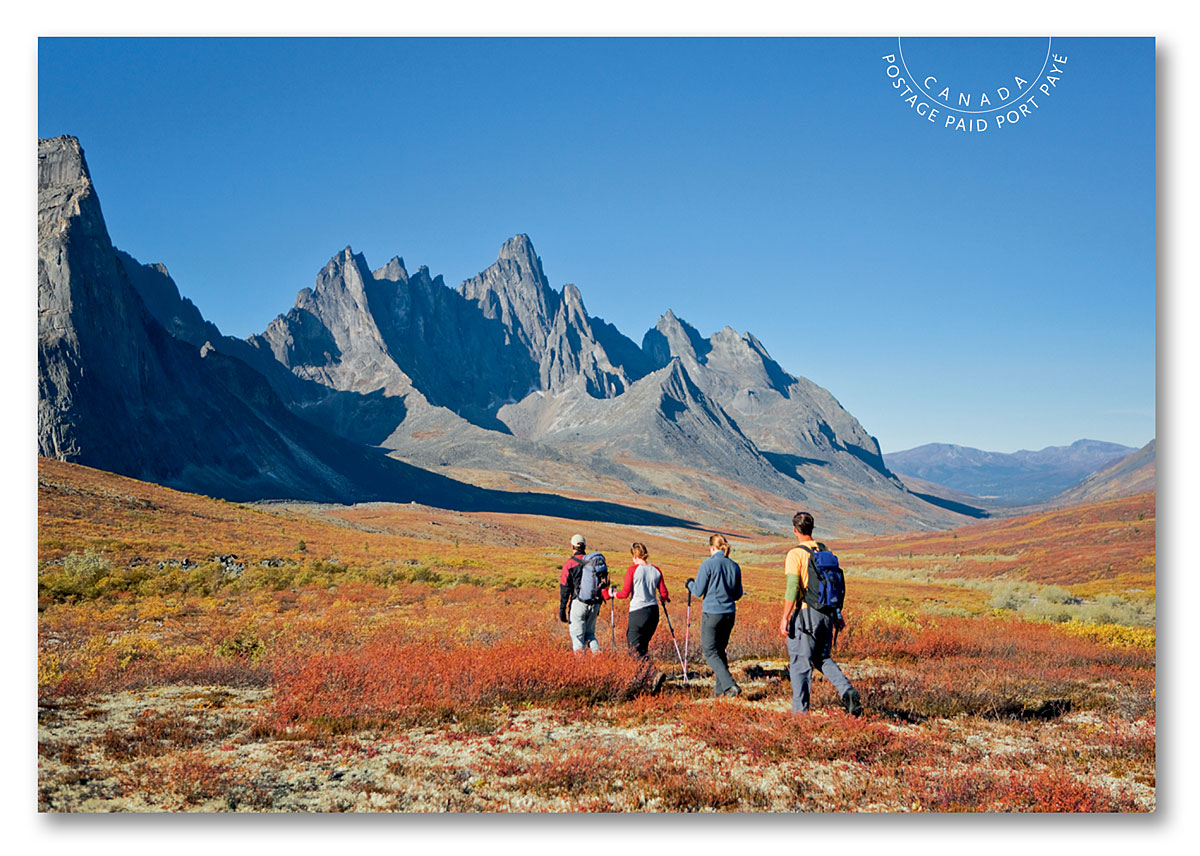 Canada - Far and Wide (January 14, 2019) Tombstone Territorial Park, Yukon postage-paid postcard