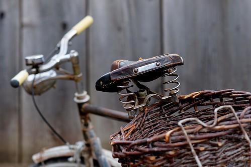 Crabby old bike
