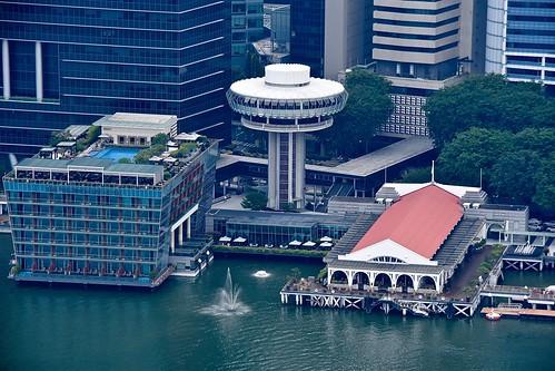 Fullerton Bay Hotel, Marina Reservoir, Singapore