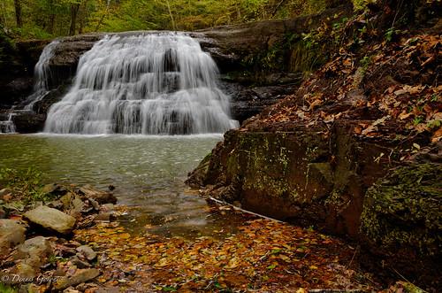 westvirginia autumn clouds fall landscape landscapemountain mountains newrivergorge rocks sunset trees water waterfall