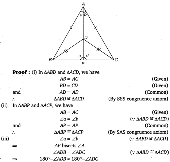 NCERT Solutions for Class 9 Maths Chapter 7 Triangles 16