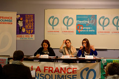 La France insoumise meeting, Belfort, 16 Nov 2018