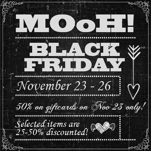 MOoH! Black friday sale 2018