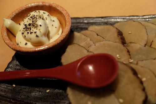 いぶりがっこ&トッピングクリームチーズ 日本酒原価酒蔵 秋葉原店 18