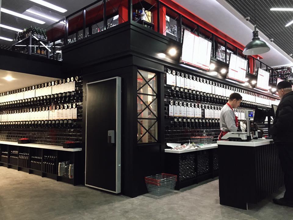Открылся «самый большой магазин пива в мире»