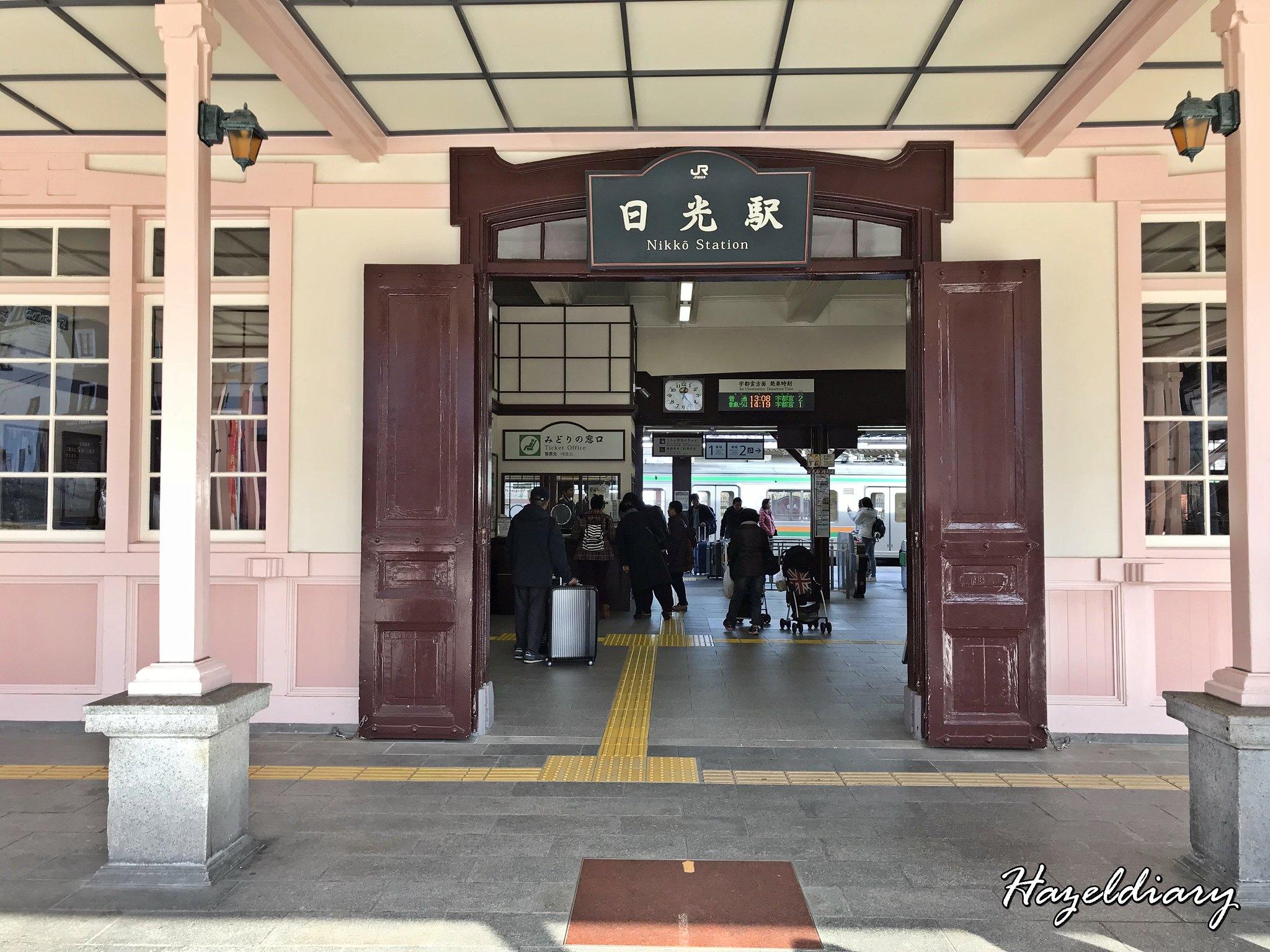 Nikko Station-Tokyo