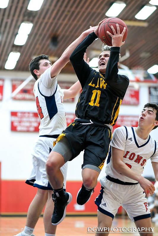 Foran High vs. Jonathan Law - High School Basketball