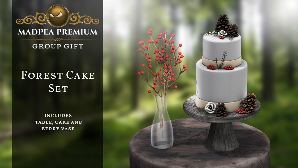 Forest Cake Set MadPea Premium Group Gift