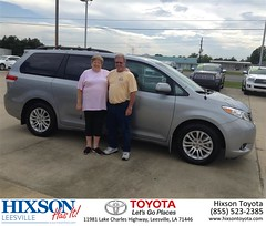 #HappyBirthday to Gregory from Cindy Crosby at Hixson Toyota of Leesville!