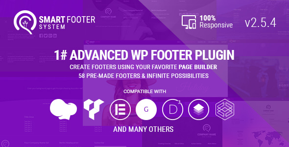 Smart Footer System v2.5.4 – Footer Plugin for WordPress
