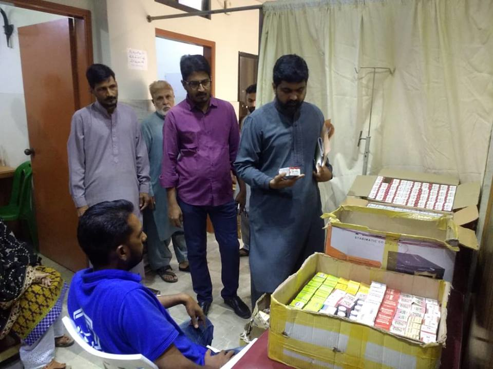 Free Medical Camp   Alkhidmat Foundation Pakistan Karachi ch