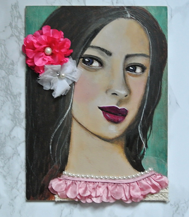 The-reworked-mixed-media-girl-on-wood-panel