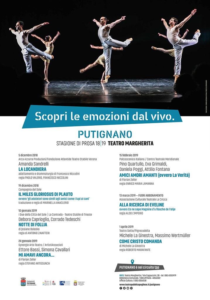 Putignano teatro 2018