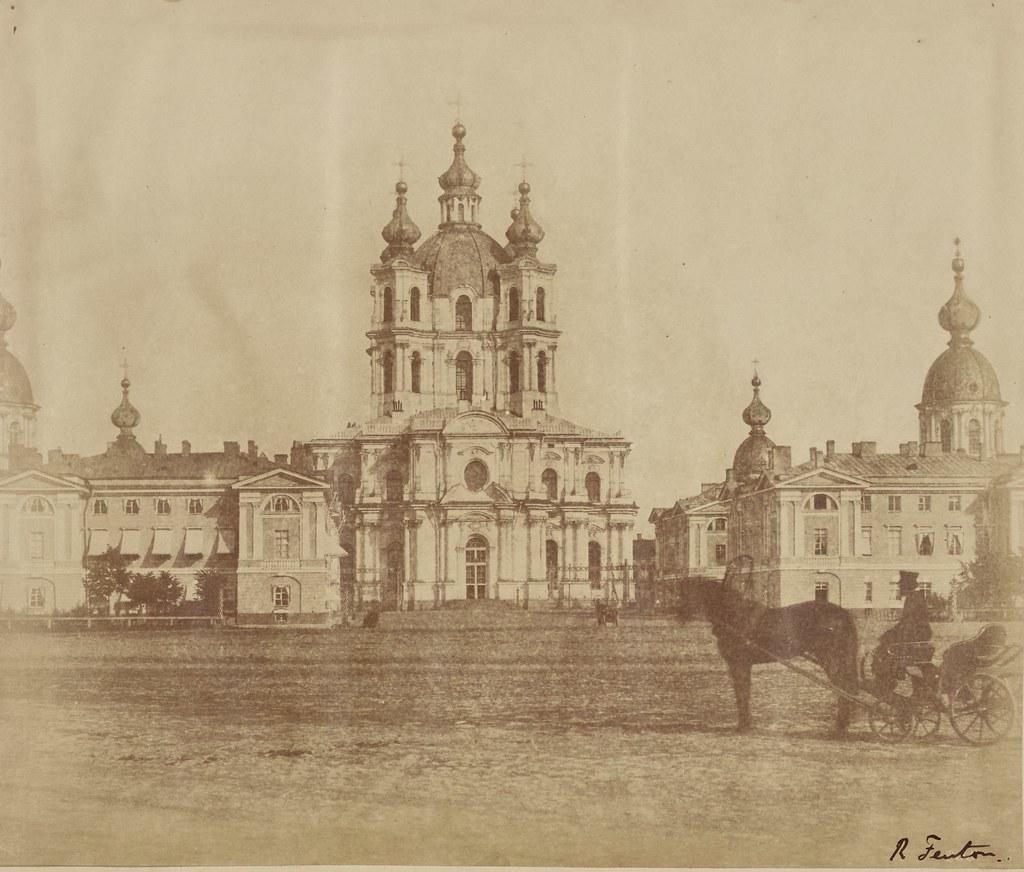 Санкт-Петербург. Смольный монастырь