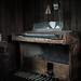 Abandoned chapel Thomas Organ by ducatidave60