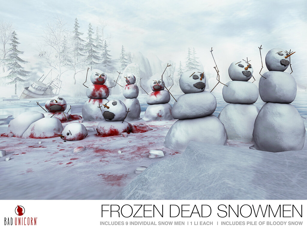 OUT NOW! 'Frozen Dead Snowmen' @ EQUAL 10