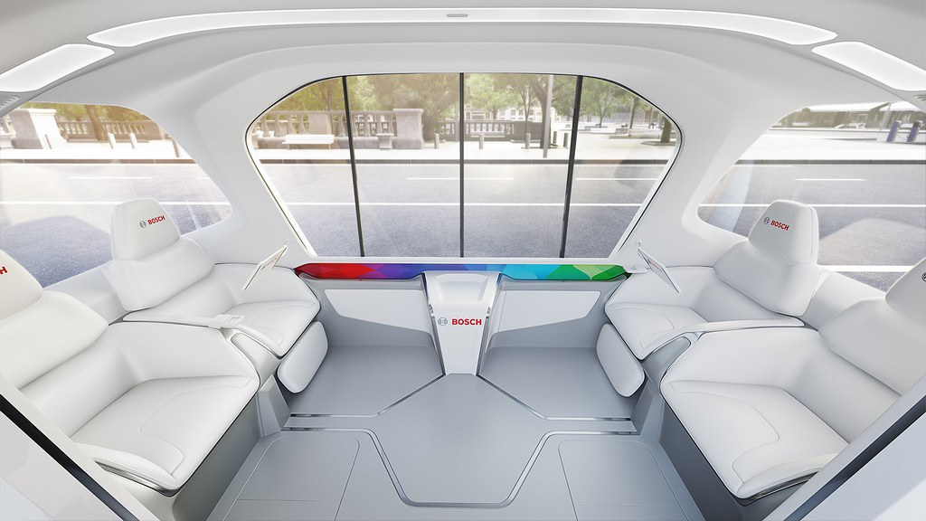 Bosch konceptno vozilo CES 19 3am#