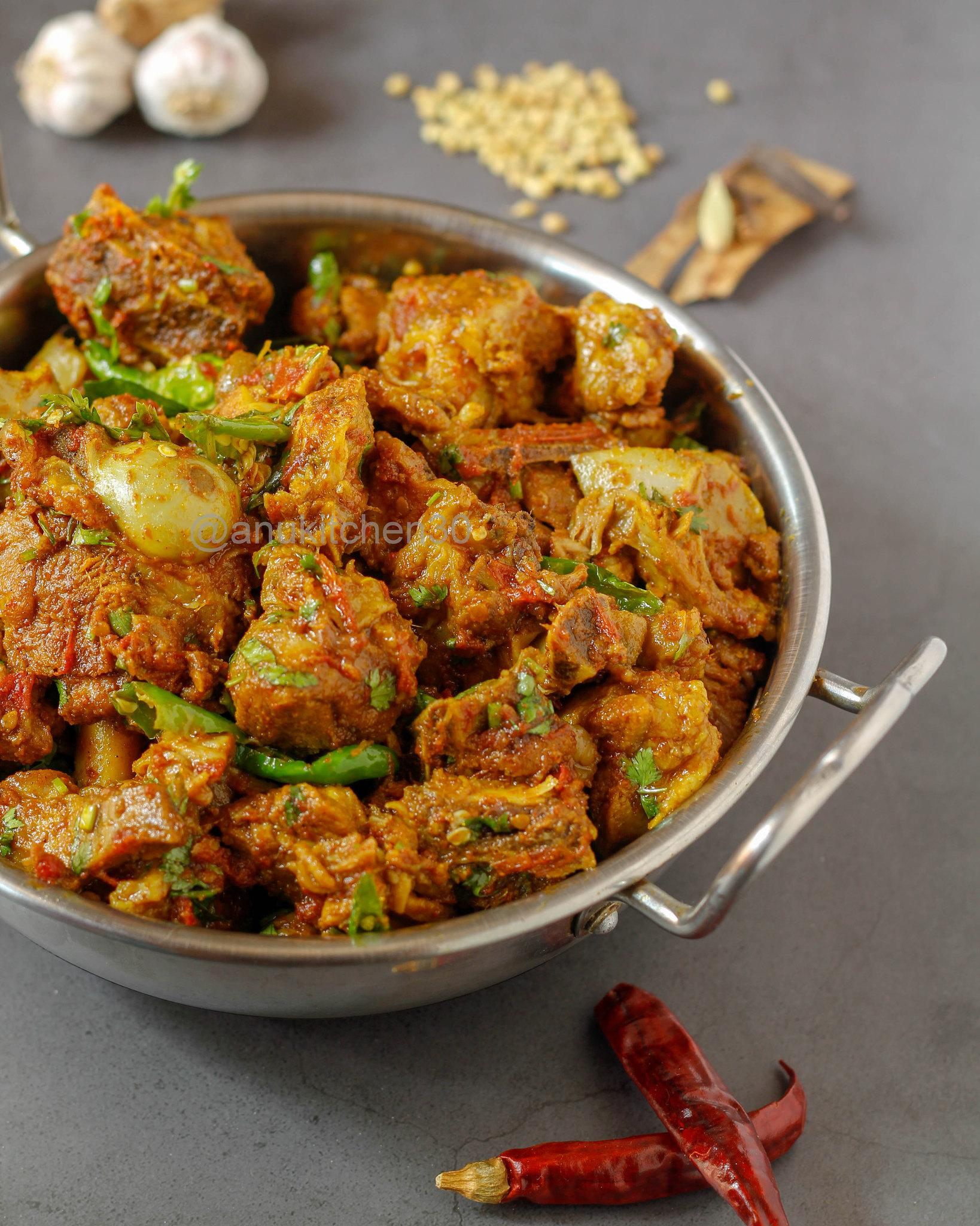 ಮಟನ್ ಡ್ರೈ | Mutton Dry