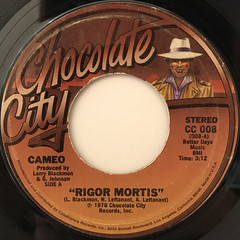CAMEO:RIGOR MORTIS(LABEL SIDE-A)