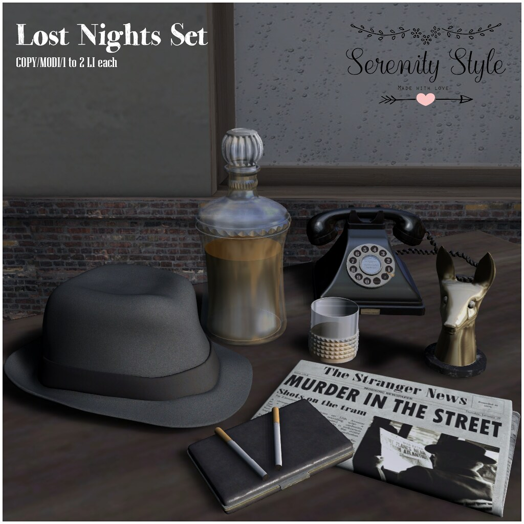 Serenity Style- Lost Nights Set MadPea Premium Alliance Hunt - TeleportHub.com Live!