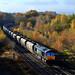 66413 Immingham-Leeds Hunslet, Goose Hill Normanton 10.11.2012