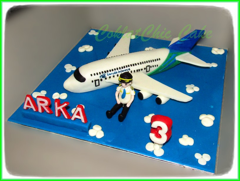 Cake Airlines ARKA 22 cm