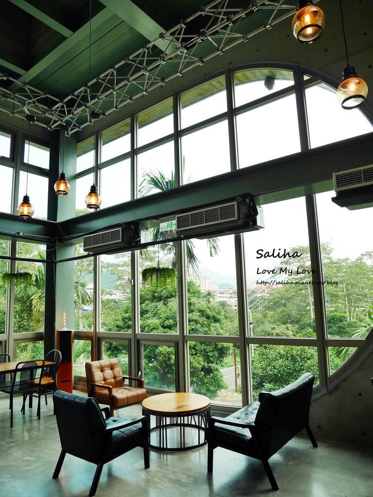 新北深坑老街一日遊景點推薦Arc Cafe下午茶玻璃屋咖啡廳 (3)