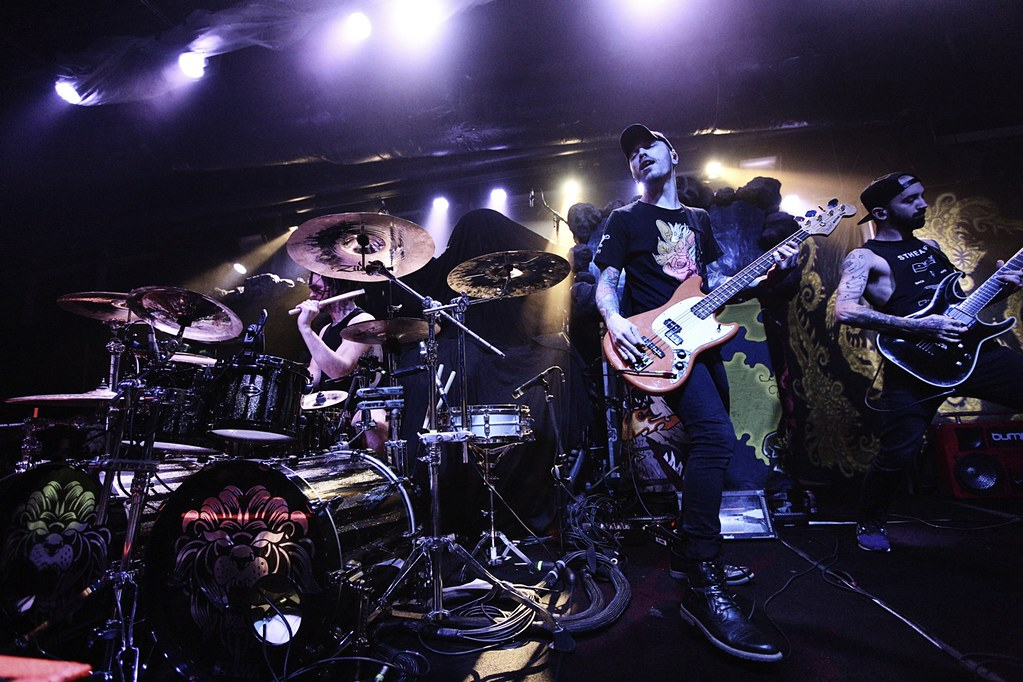 Miss May I opening for GWAR at Baltimore Sound Stage for ParklifeDC 11/9/18