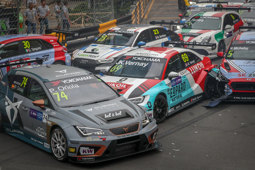 74 ORIOLA Pepe, (esp), Seat Cupra TCR team Oscaro by Campos Racing, action during the 2018 FIA WTCR World Touring Car cup of Macau, Circuito da Guia, from november  15 to 18 - Photo Alexandre Guillaumot / DPPI