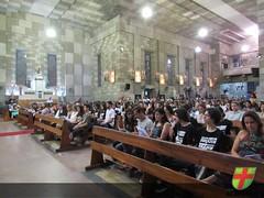 Missa celebra o encerramento da 3ª série do Ensino Médio