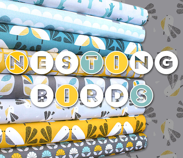 Dashwood Studio Nesting Birds Collection by Jojo Coco Design