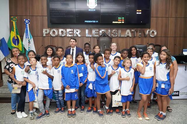 Projeto Escola no Legislativo - Educar é Lei - E.M José de Anchieta.
