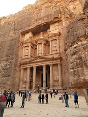 The Treasury in Petra (5)