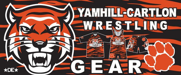 Yamhill-Carlton Wrestling Gear