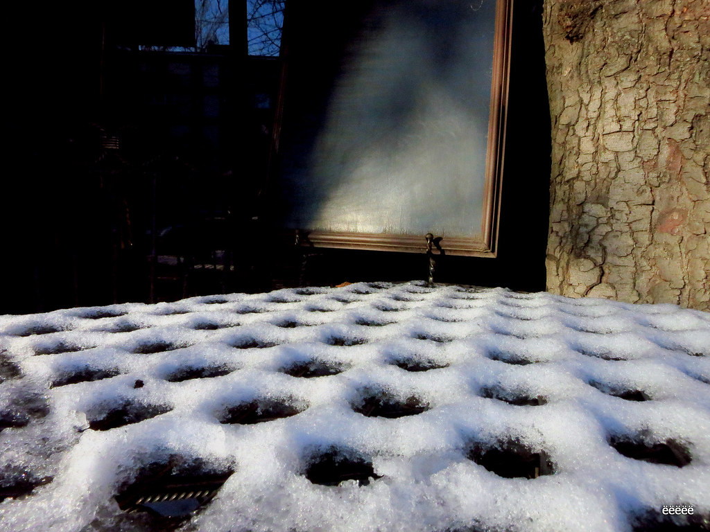 Snowy honeycomb)