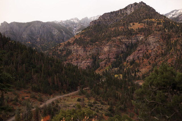 Camp Bird Road, Ouray CO