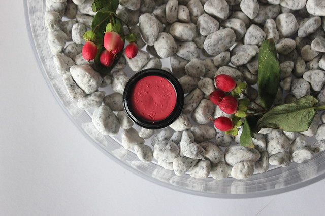 Korento lip & cheek poskipuna poppy swatch
