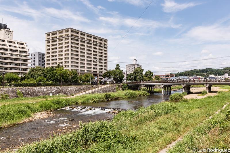 Río Nakatsugawa a su paso por Morioka