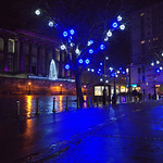 Festive lights in Preston