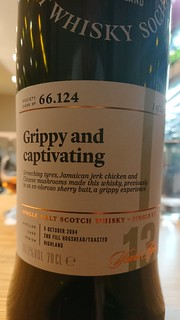 SMWS 66.124 - Grippy and captivating
