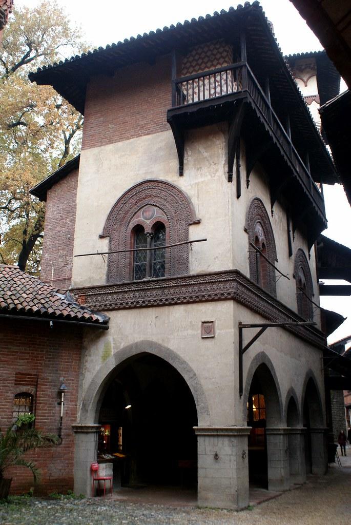Reconstitution dans le Borgo medievale de Turin.