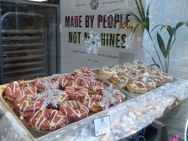 donuts de Glasgow