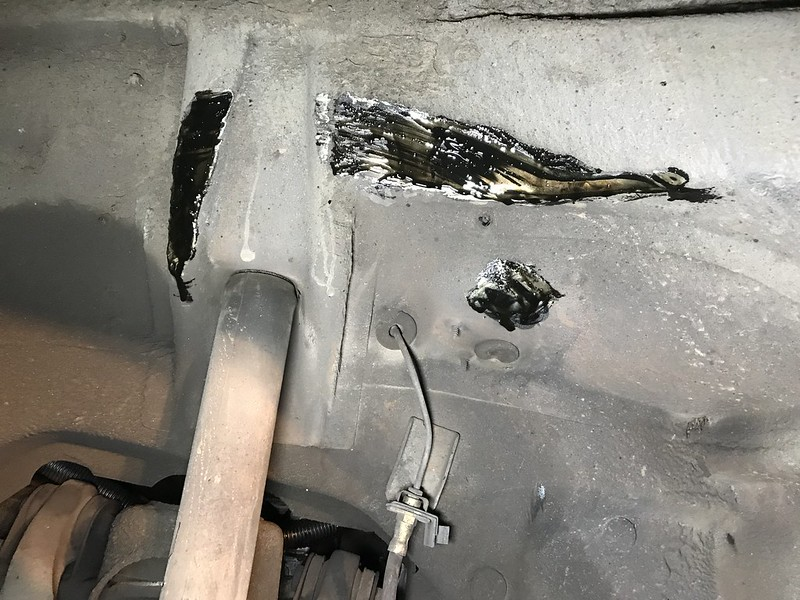 450SLC wheel rubbing