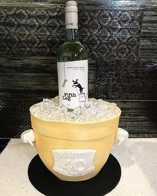 Wine Bucket Cake by Ningaloo Cakes - Exmouth WA